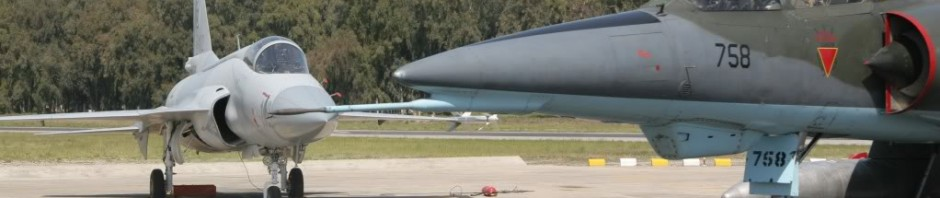 JF-17 and Mirage Pakistan Air Force