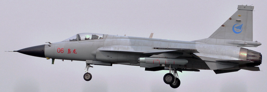 JF-17 with IRST Pod